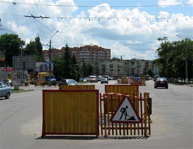 Улица Зеньковская в Полтаве
