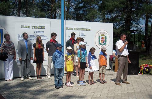 Податківці Полтавщини відкрили підшефний дитячий оздоровчий центр «Орлятко»