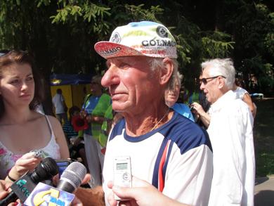 Один из старейших бегунов области представлял в Полтаве Диканьский район