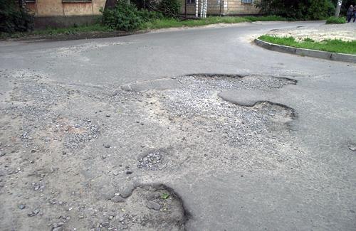 Улица Глебова в Полтаве
