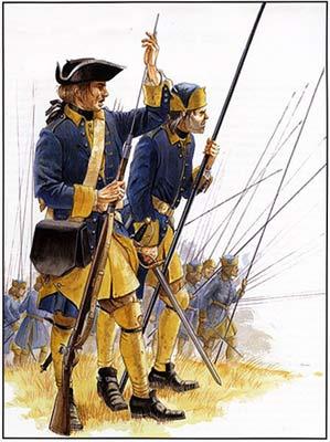 Шведські пікінери перед битвою лишилися фактично без зброї