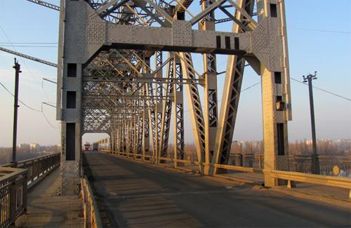 Крюковский мост в Кременчуге