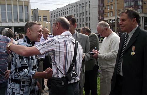 Встреча выпускников и преподавателей ПВЗРККУ
