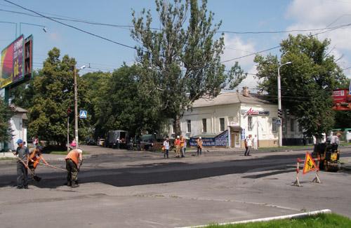 У Полтаві перекрили рух по вулиці Пушкіна
