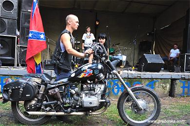 У Гребінці відбувся тринадцяти мото-рок-фестиваль «Небеса»