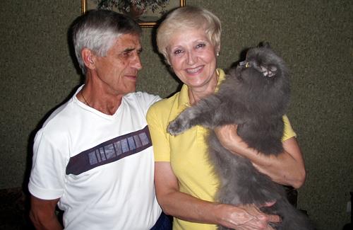 Ольга Суховерхова с мужем Юлием