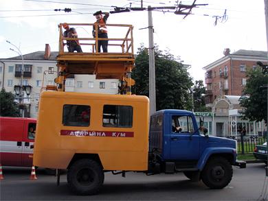 У Полтаві зупинилися тролейбуси