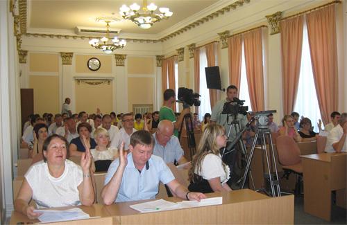 Сьогодні відбулася 12-та сесія Полтавської міської ради шостого скликання