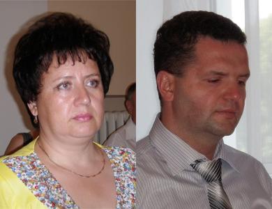 Світлана Порохня та Олександр Найпак