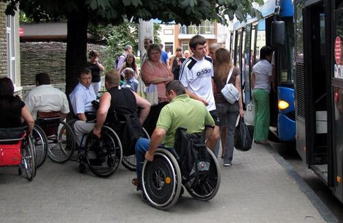 Полтавою пройде марафон інвалідів-візочників
