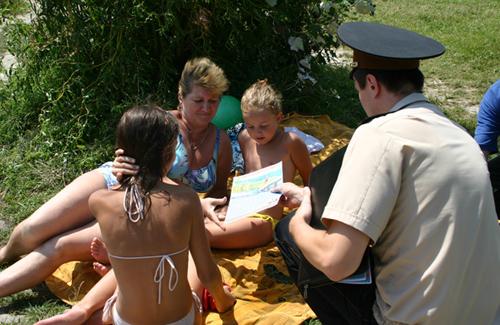 Рятувальники пояснили полтавцям як правильно купатися