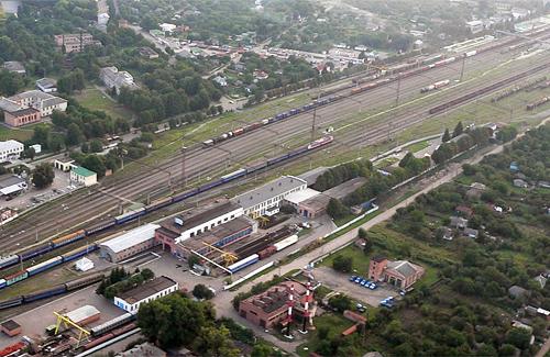 Станция «Гребенка» ЮЖД