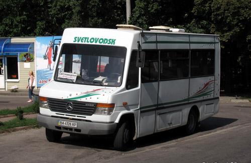 Мікроавтобус, переобладнаний з вантажного в пасажирський
