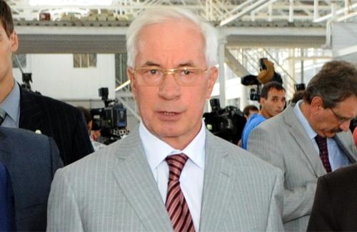 На Полтавщину із робочою поїздкою прибув прем'єр-міністр Микола Азаров