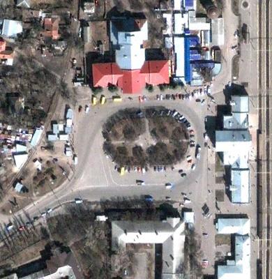 Конкретного місця розташування автостанції на площі також не назвали