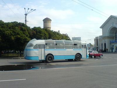 Возле Южного вокзала в Полтаве