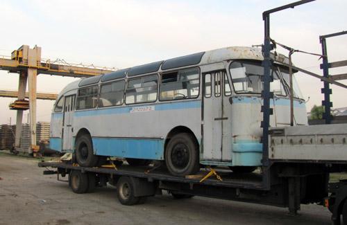 Самый старый автобус Полтавщины отправился в Киев