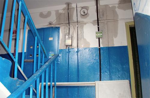 Через негоду в Полтаві затопило 9-поверхівку