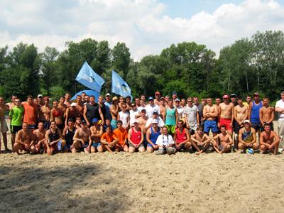 «Молоді регіони» провели в Полтаві чемпіонат з пляжного волейболу