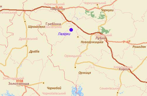 Мешканці Лазірок хочуть вийти з Оржицького району і приєднатися до Гребінківського