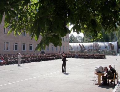 Узяти участь у святкуванні приїхали й батьки курсантів