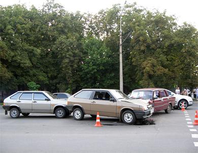 ДТП: четыре полтавчанина не разминулись на одной дороге