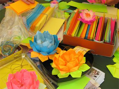 В Полтаве обучали оригами