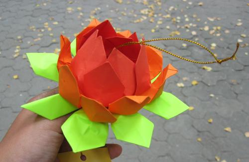 В Полтаве обучали оригами и показывали Фалуньгун