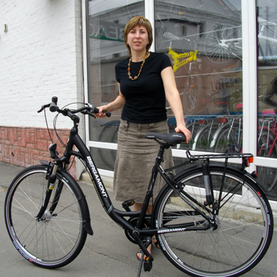 Менеджер велосипедного магазина Жанна