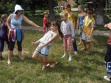 У Лубнах проводять масові вуличні заходи для дітей