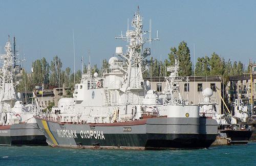 Корабль морской охраны «Полтава». 28 октября 2006 года