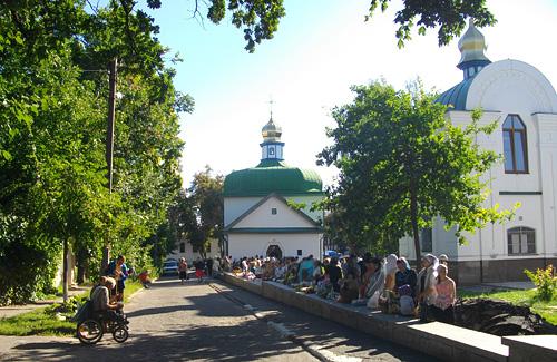 Яблуневий Спас у Полтаві
