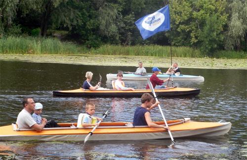 Спортсмени-інваліди змагалися між собою на байдарках та каное