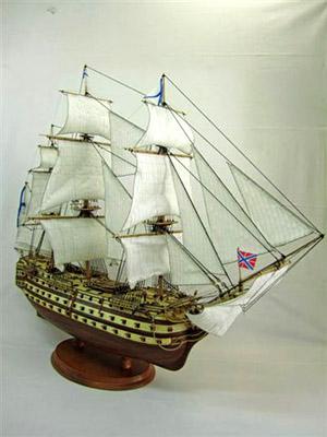 Линкор «Полтава» 1754 года. Модель