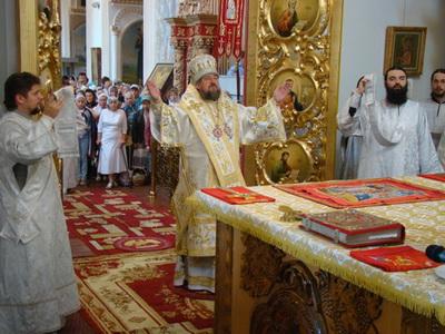 Мгарский монастырь отметил престольный праздник
