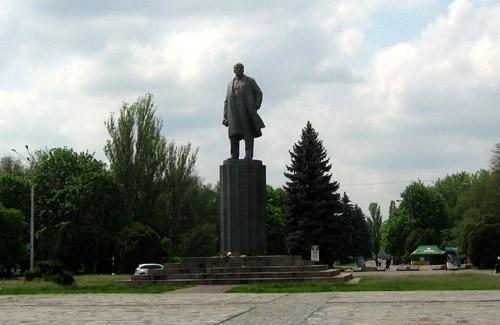 Пам'ятник Леніну у Кременчуці