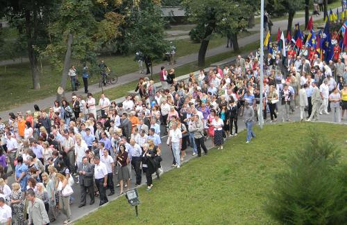 Більшість політичних сил не здатні зібрати людей для ходи