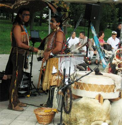 День незалежності у Полтаві святкували під індіанські наспіви