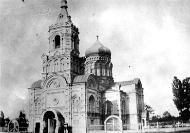 Покровська церква на Павленках. Поч. XX ст.