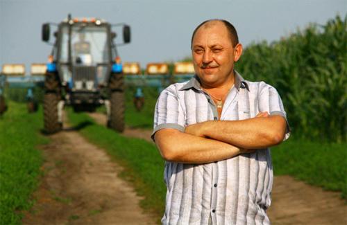 Полтавский фермер Николай Спивак