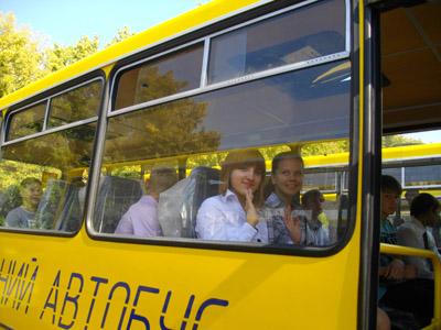 На Полтавщині нові шкільні автобуси їхатимуть до порожніх шкіл?