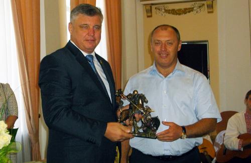 Юрій Левченко та Олександр Мамай