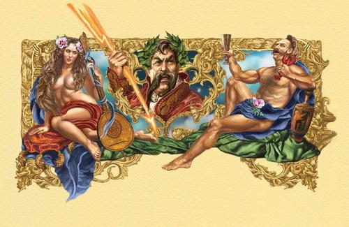 Иллюстрация к «Энеиде» И. Котляревского