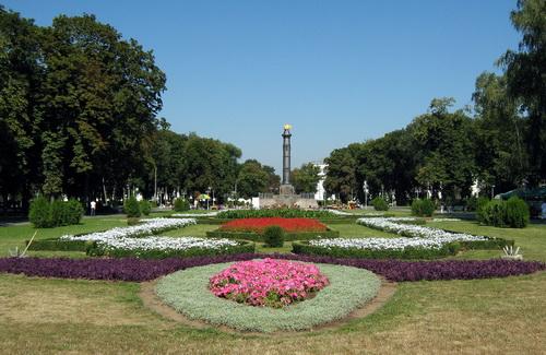 Корпусный парк в Полтаве
