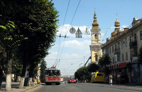 Улица Соборная в Виннице