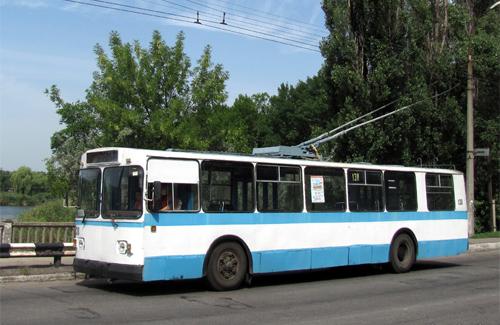 Учбовий тролейбус у Кременчуці