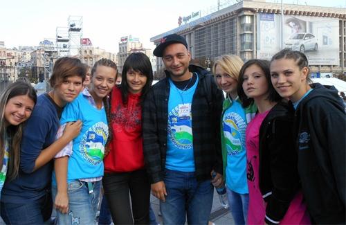 Команда «Полтава — Комсомольск» в Киеве