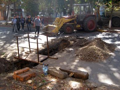 Часть улицы Шевченко в Полтаве перекрыли на неделю