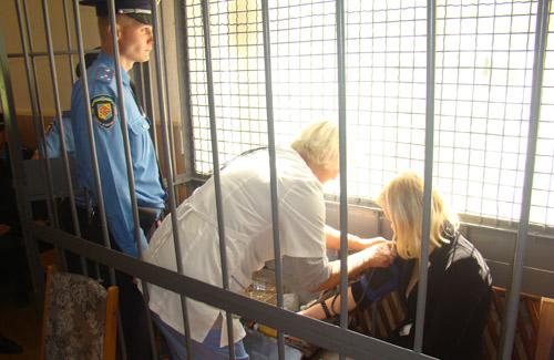 Пряма мова із судового процесу над Вікторією Санжарівець