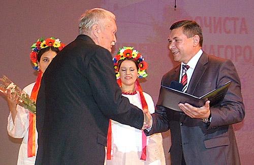 Вручення премії імені Котляревського